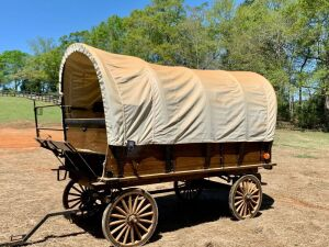 PIONEER EQUIPMENT COVERED WAGON